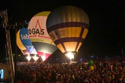Àngel Aguirre, vencedor del 21è European Balloon Festival