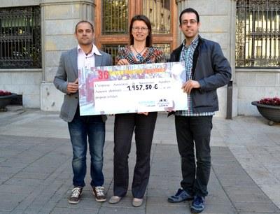 AquaSOS lliura 1.957€  a Sant Joan de Déu