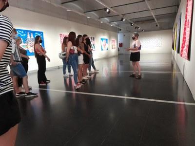 Aquest diumenge, visita guiada a l'exposició Patternalism de les igualadines Patrícia Carreño Picón i Cecília González