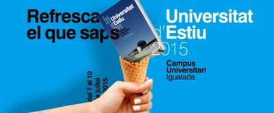 Aquest juliol, nova edició de la Universitat d'Estiu d'Igualada