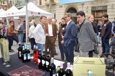 Artur Mas, a La Gran Festa del Vi d'Igualada