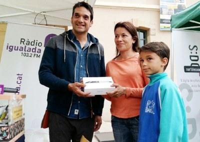 Assumpta Costa, guanyadora del Joc del Comerç de La Mostra
