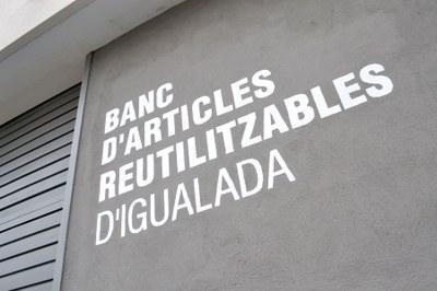Balanç positiu del segon any del Banc d'Articles Reutilitzables