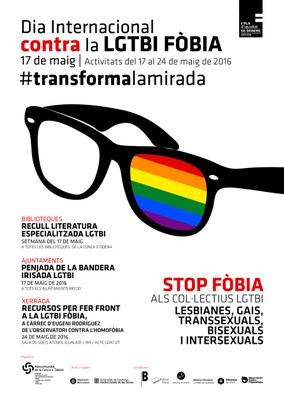 Campanya de la Mancomunitat de la Conca d'Òdena contra la LGTBI Fòbia