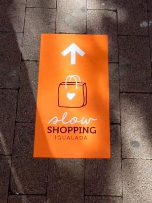 Cinquena edició de l'Igualada Slow Shopping