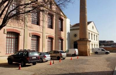Comencen les obres d'adequació del pati del Museu