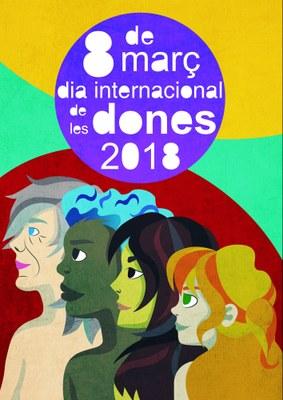 Concurs per escollir la imatge del 8 de març a la Conca d'Òdena