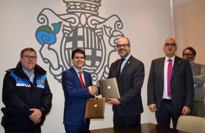 Conveni amb el Servei Català de Trànsit en matèria de seguretat viària