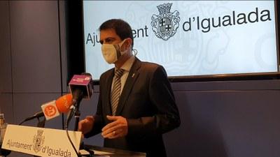 """COVID-19: L'alcalde, Marc Castells, alerta que """"cal que la gent sigui conscient que entrem en una fase de complicació"""""""