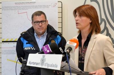 Dispositiu per rebre la Volta a Catalunya el 23 de març