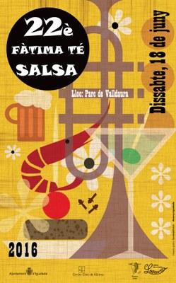 Dissabte, al Parc de Valldaura, 22è Fàtima té Salsa