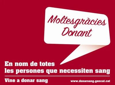 Dissabte, marató de donació de sang