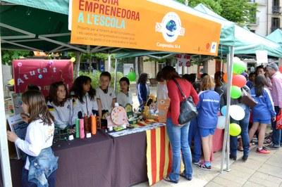 Mercat de cooperatives de Cultura Emprenedora a l'Escola