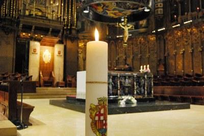 Dissabte, ofrena del Ciri Votiu a Montserrat