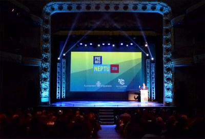 Diumenge, 10 de març, gala de lliurament dels Premis Neptú