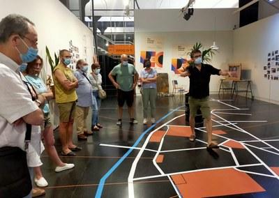 """Dues noves visites guiades a l'exposició """"Rec Districte Cultural. Un barri en transformació"""""""