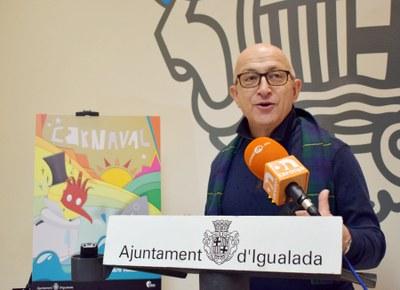 El 10 de febrer, Rua de Carnaval a Igualada