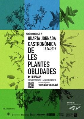 El 13 d'abril, 4a Jornada Gastronòmica de les Plantes Oblidades