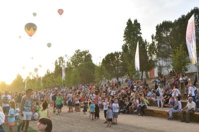 El 13 de juliol, festa familiar 'Dibuixa el teu parc'
