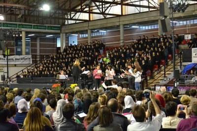 El 19 de març torna la Cantata Escolar a Les Comes