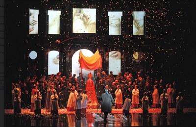 El 28 de juny, el 'Liceu a la fresca' projectarà 'Tosca' al Museu de la Pell