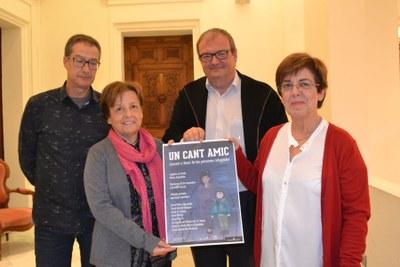 El 29 de novembre, concert solidari per les persones refugiades