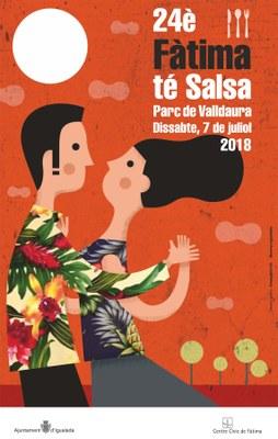 El 7 de juliol, 24a edició del Fàtima té Salsa