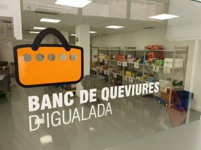 El Banc de Queviures es trasllada a un local amb més capacitat d'emmagatzematge