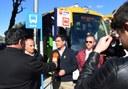 """El bus Exprés e5 ja opera a les parades del """"Punto Blanco"""""""