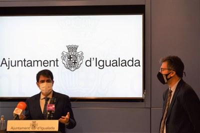 El comerç d'Igualada rep 750.000 euros en ajuts directes per pal·liar els efectes del confinament