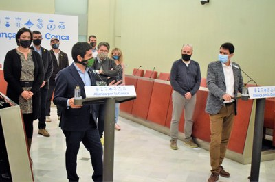 El conseller Chakir El Homrani presenta un pla de xoc especfíc per fomentar l'ocupació a la Conca d'Òdena