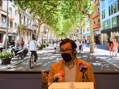 El Pla de mobilitat urbana sostenible recull 53 propostes per promoure la convivència entre vianants i vehicles de tot tipus