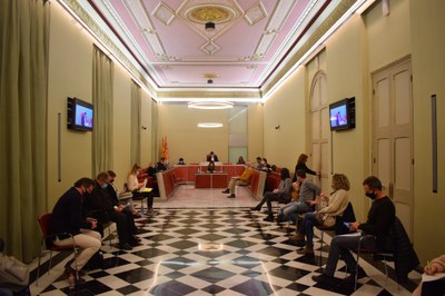 El Ple aprova el pressupost municipal per al 2021, que serà de 63 milions d'euros
