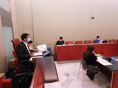 El Ple de l'Ajuntament aprova un pla econòmic financer i una modificació de crèdit