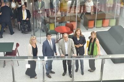 El president de la Generalitat, Quim Torra, visita la Teneria