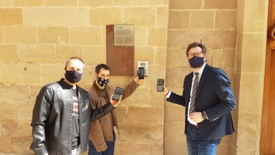 """El projecte """"IGDA, guia d'àudio de la ciutat"""" incorpora 8 noves audio-descripcions de punts patrimonials i turístics d'Igualada"""