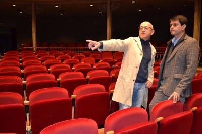El Teatre Municipal l'Ateneu renova les seves butaques