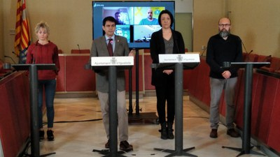 Els 4 municipis confinats  han registrat aquest mes el triple de morts que el març de l'any passat