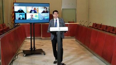 Els alcaldes i alcaldesses de la Conca d'Òdena demanen 70.000 tests ràpids per a tota la població