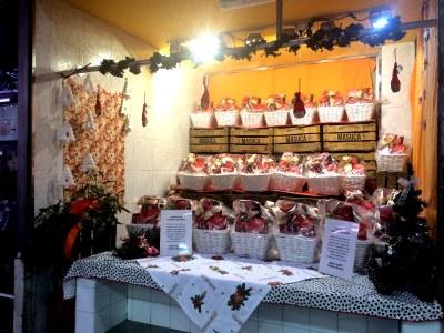 Els comerciants de la Masuca sortegen 47 paneres per Nadal