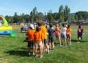 Els infants de l'Esportiueig i l'Estiuet, al Parc Central