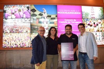 Els Moixiganguers afrontaran a Tarragona el seu primer castell de nou