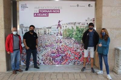 Els Moixiganguers tornaran a la Plaça de l'Ajuntament aquest diumenge per celebrar la seva 27a Diada de la Colla