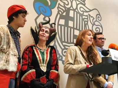 Els Pastorets d'Igualada encenen, divendres, els llums de Nadal de la ciutat