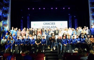 Els Premis Neptú 2019 coronen els triatletes Anna Noguera i Albert Moreno