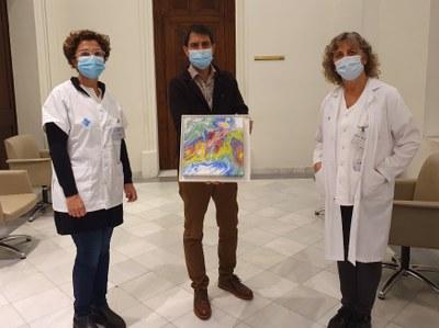 Els professionals d'Atenció Primària de l'Anoia col•laboren amb La Marató de TV3 amb unes litografies solidàries