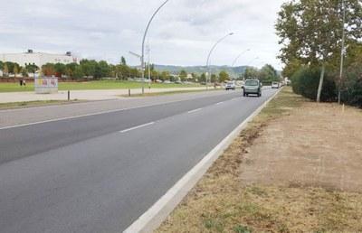 Entre octubre i febrer, afectacions per obres a l'Avinguda Catalunya