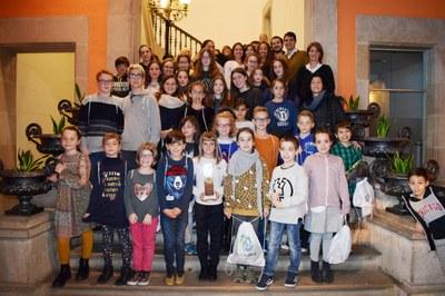 Felicitació a l'Anoia Club Gimnàstic pels seus èxits