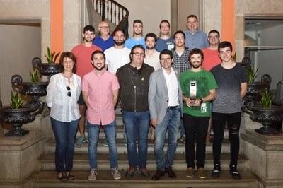 Felicitació a l'Handbol Igualada per l'ascens a Primera Catalana