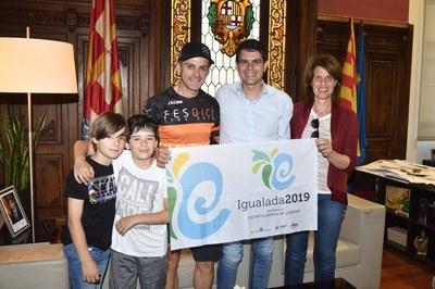 Felicitació al ciclista Genís López